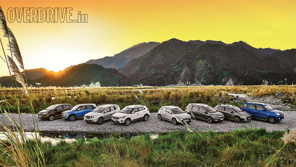 Ultimate crossover comparo: Urban Cross vs i20 Active vs Vitara Brezza vs TUV300 vs EcoSport vs Creta vs Terrano vs BR-V