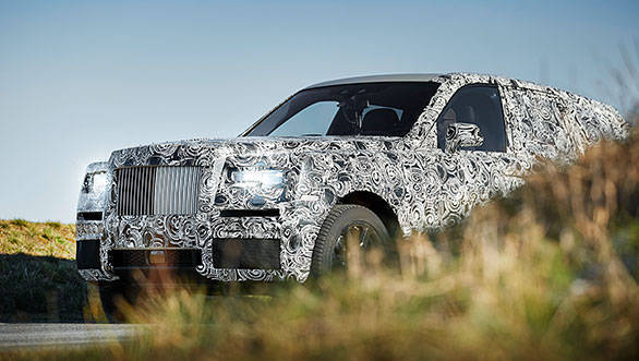 Rolls-Royce Cullinan SUV testing to be shown on social media before launch