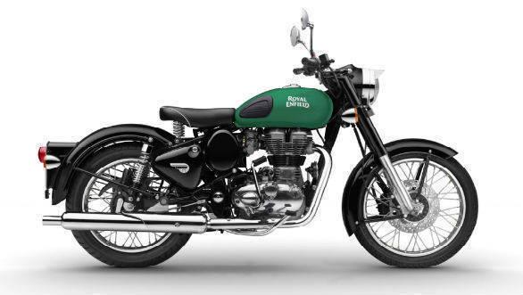 Royal Enfield Classic 350 Redditch Green