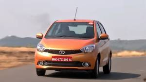 Tata Tiago first drive review - Video