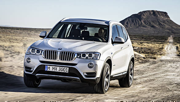 The new BMW X3 xDrive28i