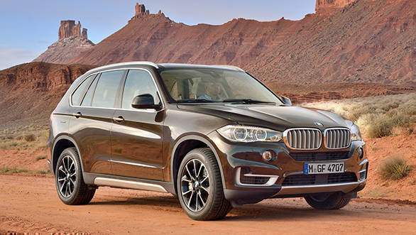 The new BMW X5 xDrive35i