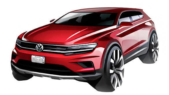 2017 Volkswagen Tiguan Allspace to debut at Detroit Motor Show