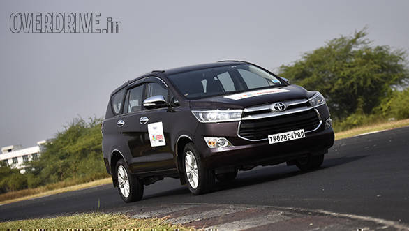 UTILITY VEHICLE OF THE YEAR - Toyota Innova Crysta