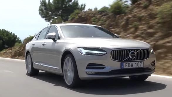 Volvo S90 - First Drive Review - Video