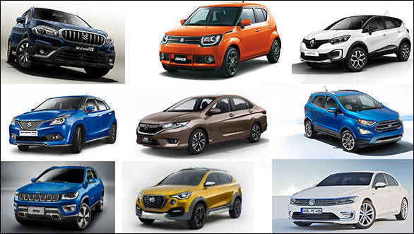 New car launches in India in 2017