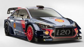 Hyundai unveils the 2017 i20 Coupe WRC