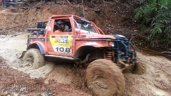 Team India finishes 11th overall at the 2016 Rainforest Challenge grand final