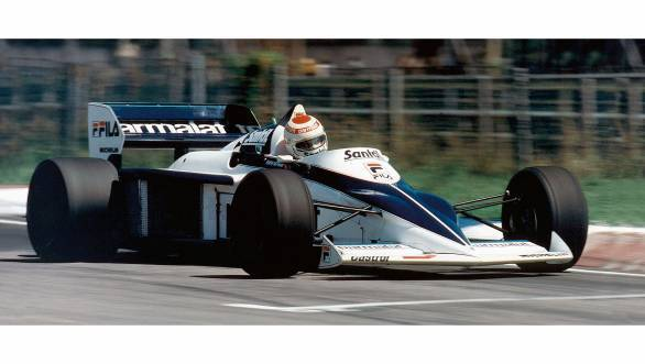 Nelson Piquet in the Brabham