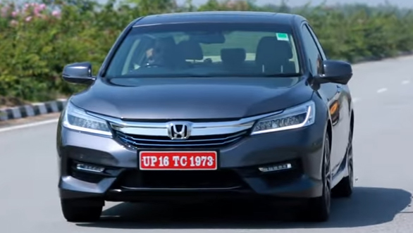 2016 honda accord hybrid first drive review video overdrive. Black Bedroom Furniture Sets. Home Design Ideas