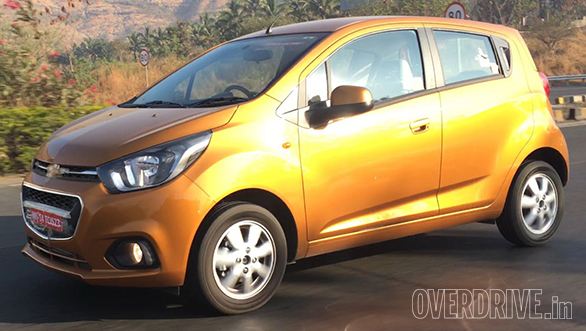 Spied: Updated Chevrolet Beat spotted testing in India