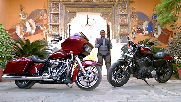 2017 Harley-Davidson Road Glide and Roadster first ride review in India - Video