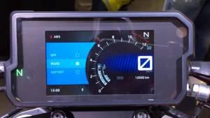 2017 KTM 390 Duke TFT Screen explained - Video