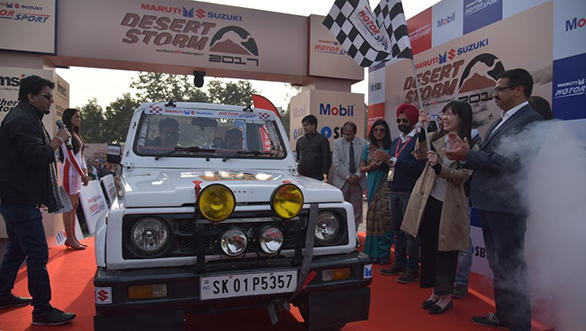 2017 Maruti Suzuki Desert Storm: Heads from Noida to Hanumangarh for Stage 1