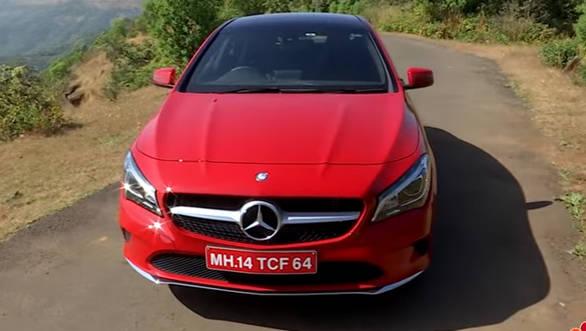 2017 Mercedes-Benz CLA 200 petrol - Review - Video