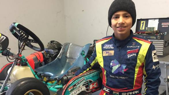 Shahan Ali Mohsin to compete in first full season of karting in Europe