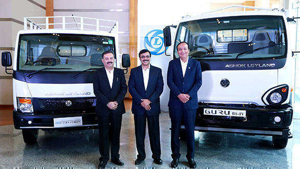 Ashok Leyland Partner LCV and Guru launched in India