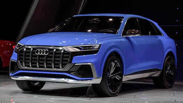 2017 Detroit Motor Show: Audi reveals the Q8 concept