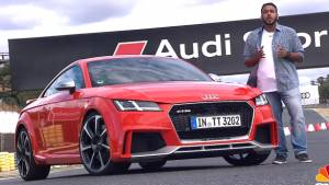 Audi TT RS Coupe and Roadster - First Drive Review - Video