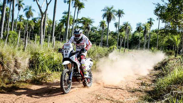 CS Santosh - Hero MotoSports - Dakar 2017