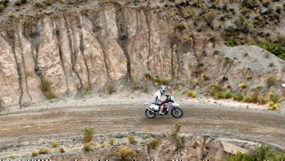 CS Santosh - Hero MotoSports Team Rally - Dakar 2017 Stage 5