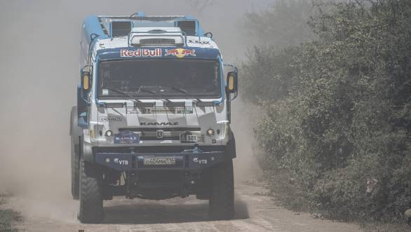 Ayrat Mardeev (RUS) of KAMAZ - Master races during stage 2 of Rally Dakar 2017 from Resistencia to San Miguel de Tucuman