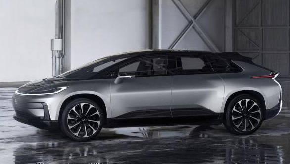CES 2017: Faraday Future reveals FF 91