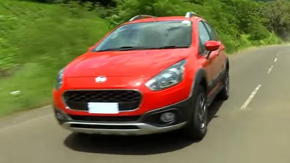 Fiat Punto Avventura Urban Cross - First Drive Review - Video