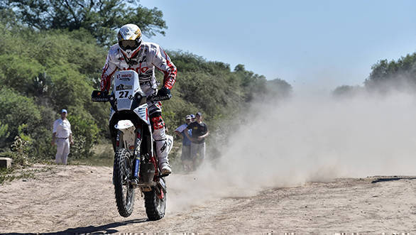 Dakar 2017: Hero MotoSports Team Rally's Joaquim Rodrigues holds on to 11th overall after Stage 7