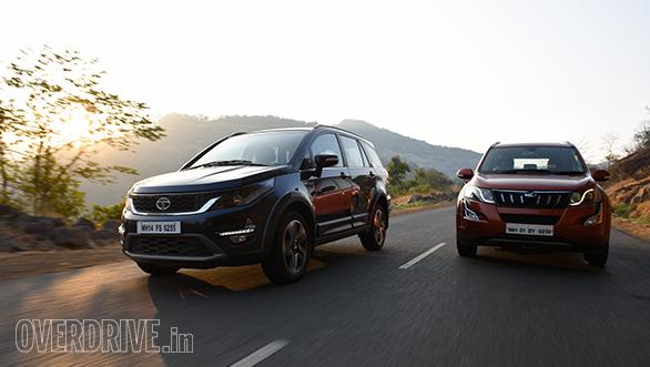 Comparo: Tata Hexa XT vs Mahindra XUV 500 AWD