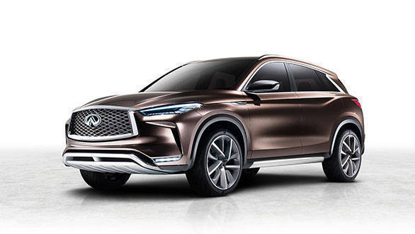 Infiniti QX50 concept revealed ahead of 2017 Detroit Auto Show