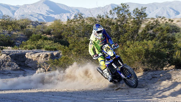 Dakar 2017: TVS Sherco's Juan Pedrero Garcia takes 4th place in Stage 5