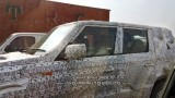 Spied: Mahindra TUV 500 (300XL) spotted testing in Surat