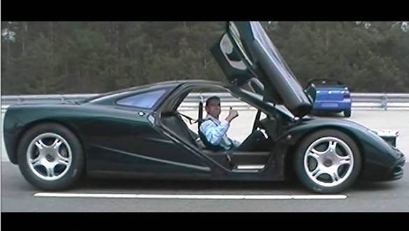 Video worth watching: Andy Wallace on setting the record for the fastest production car in the McLaren F1