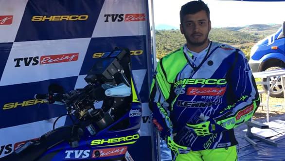 Meet Sherco TVS' Dakar RTR 450 | OVERDRIVE - Video