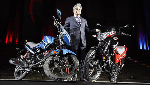 Mr Pawan Munjal CMD Hero MotoCorp at the Brand Launch and Global Launch of Glamour in Argentina