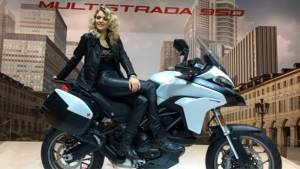 New Ducati Multistrada 950 first look from EICMA 2016 - Video