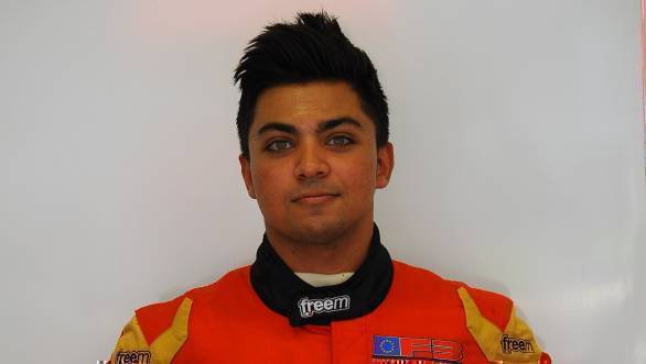 Parth Ghorpade will compete in the 2017 Lamborghini Super Trofeo Middle East and Asia Series with FFF Racing in 2017