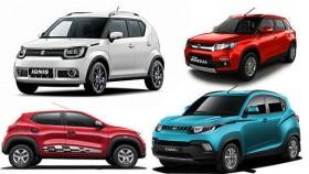 Spec comparison: Maruti Suzuki Ignis vs Mahindra KUV100 vs Renault Kwid vs Maruti Vitara Brezza