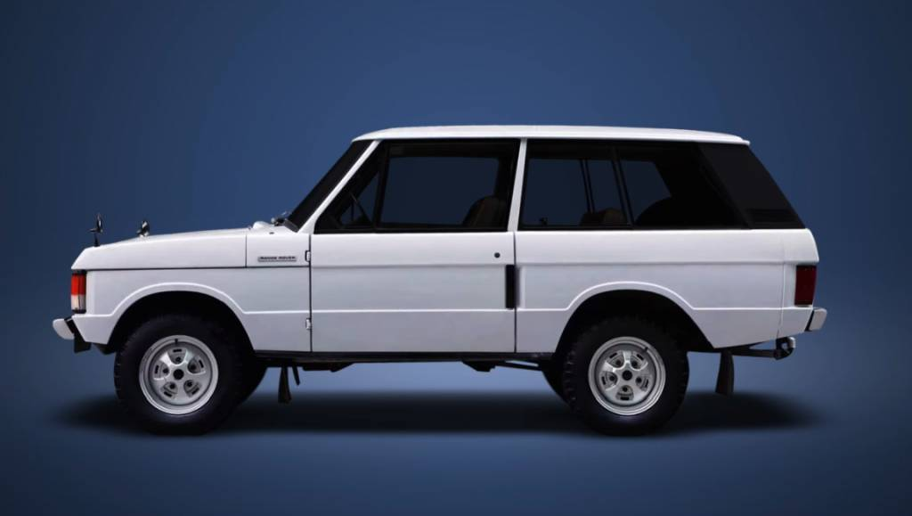 Range Rover 1973 Floating roof