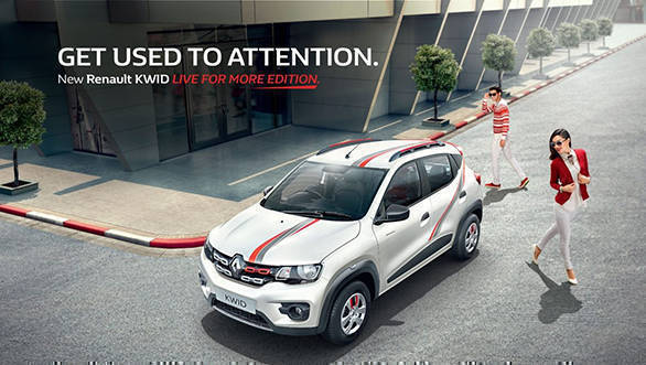 Renault Kwid 'Live for More' edition launched in India at Rs 2.93 lakh