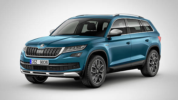 2017 Geneva Auto Show: Skoda Kodiaq Scout to be showcased