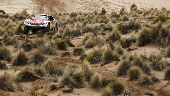 Dakar 2017: Stephane Peterhansel extends lead at the end of Stage 7