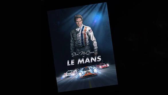 Steve McQueen in Le Mans