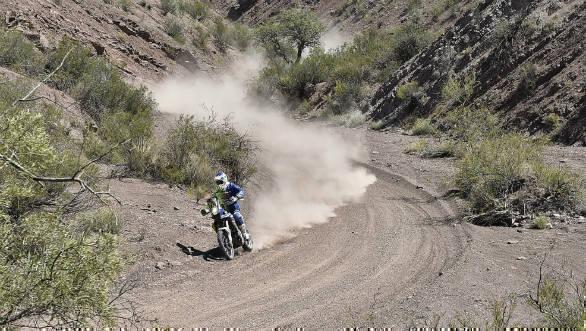 TVS Sherco Juan Pedrero Garcia Dakar Stage 11