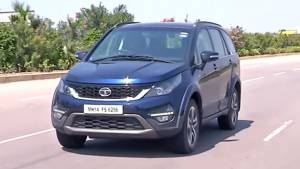 Tata Hexa 2.2 MT/AT - First Drive Review - Video