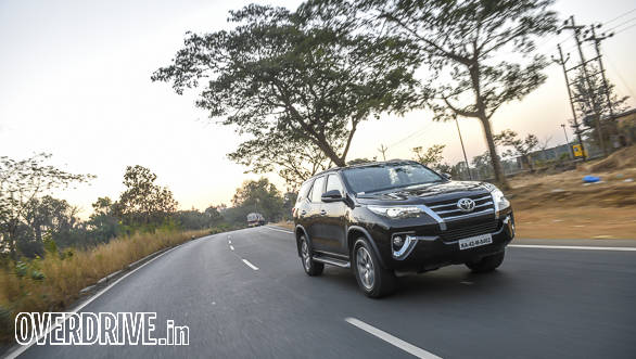 Toyota India receives over 10,000 bookings for the Fortuner