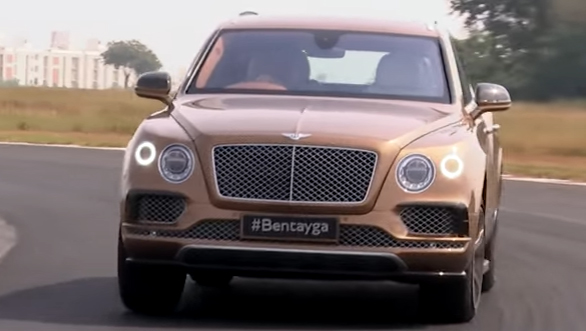 Track test: Bentley Bentayga - Video