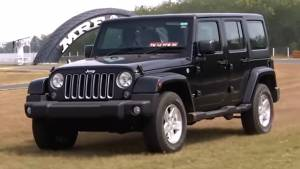 Track test: Jeep Wrangler Unlimited - Video