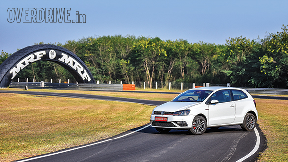 VW Polo GTI Track Test (2)